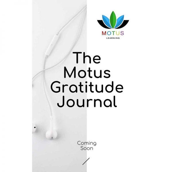The Motus Gratitude Journal